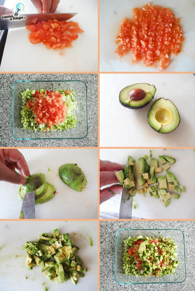 Picando el tomate y la palta - Cómo hacer un pebre de zapallo italiano