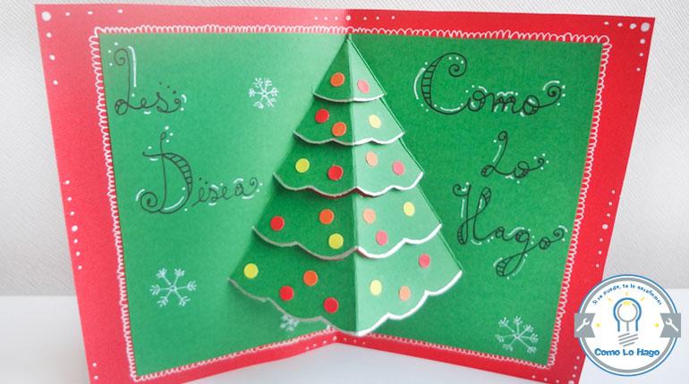 cmo hacer una tarjeta navidea